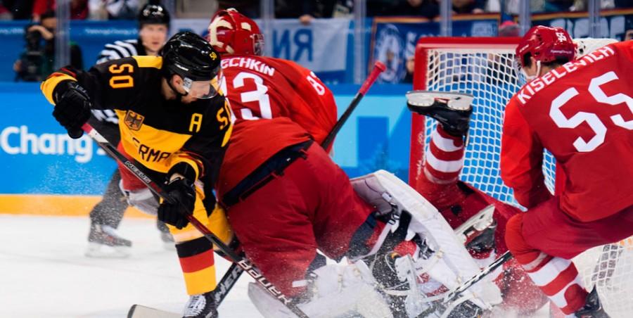 Сборная России по хоккею впе…