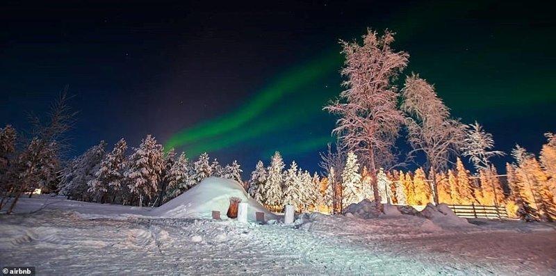 2. Иглу в Лапландии - 148 долларов за ночь Airbnb, аренда жилья, жилье, подборка, путешествия, разные страны, туризм, фото