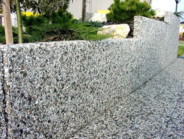 «Мытый бетон» — необычный ма…
