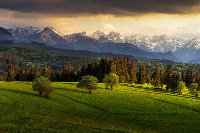 Матушка-природа внесла свою лепту в создании красоты этого горного края.