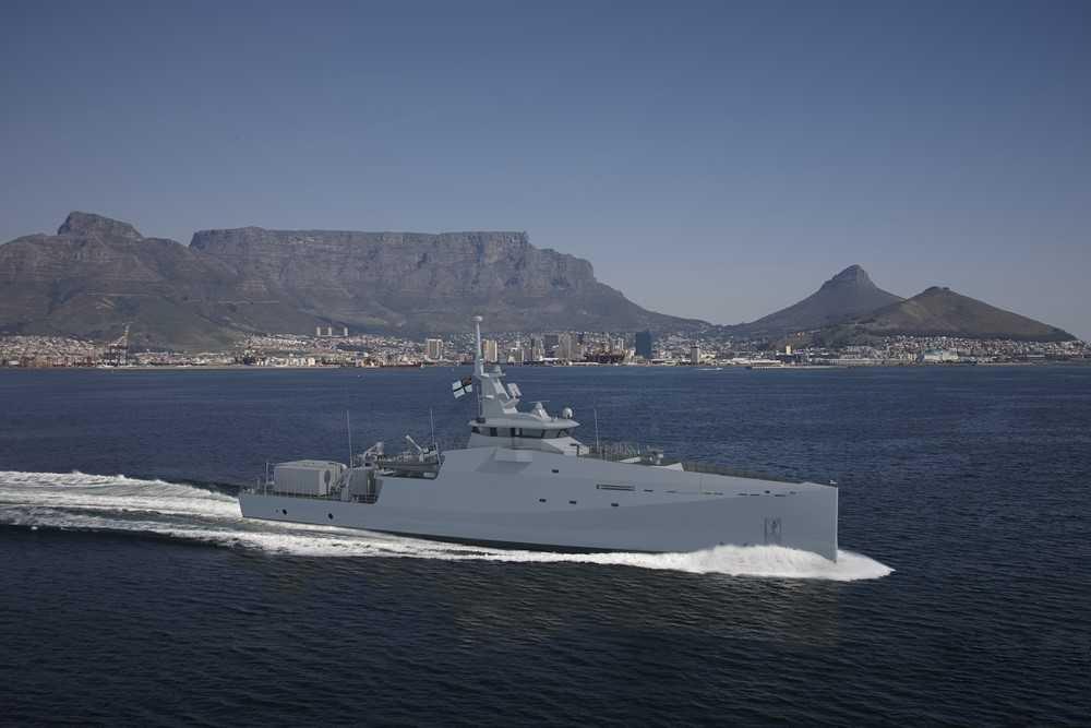 ВМС ЮАР заказали три патрульных корабля группе Damen