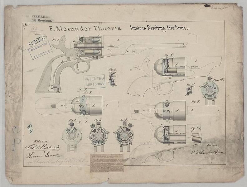 Револьверы вдовы Кольта оружие