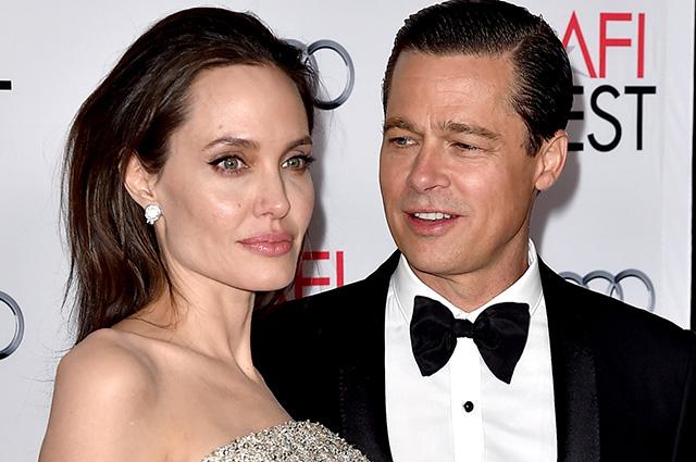 Стало известно, как Брэд Питт отреагировал на утечку информации об обвинениях в домашнем насилии от Анджелины Джоли Звездные пары