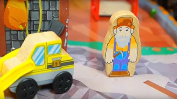 Как добывают золото. Видео для детей на немецком языке