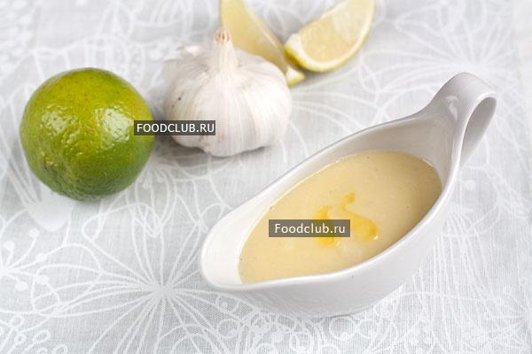 Чесночный соус (этап 4)