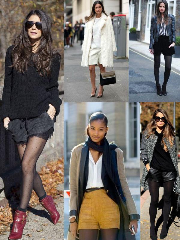 17 способов носить шорты в холодное время года, фото № 4