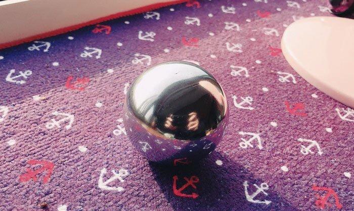 А вы что думаете насчет создания полированных шаров из алюминиевой фольги? в мире, очумелые ручки, фольга, шары, япония