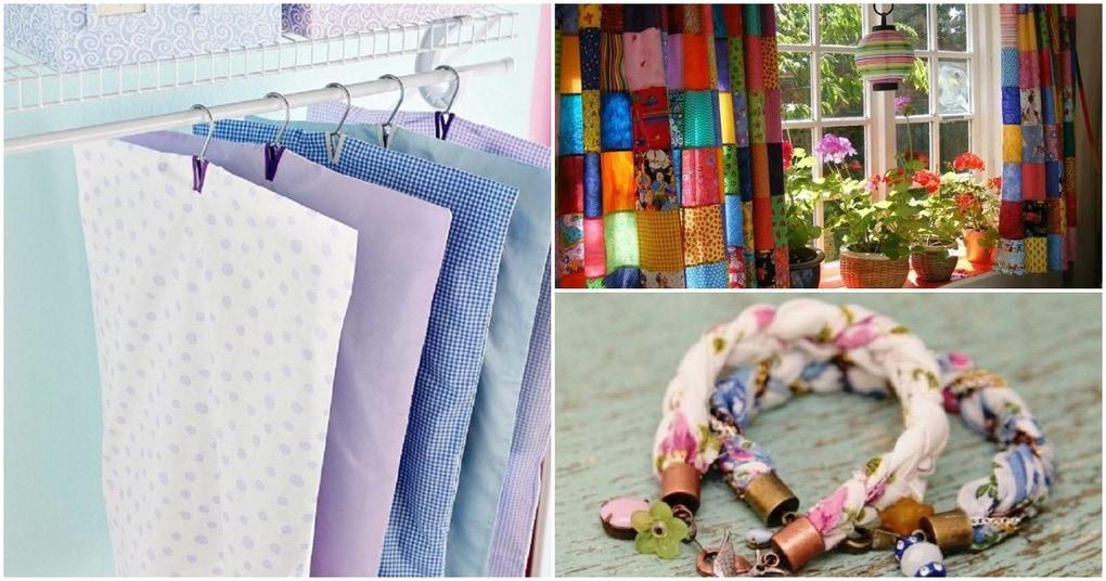 Функциональные вещи для дома: а как вы используете старые простыни и наволочки?