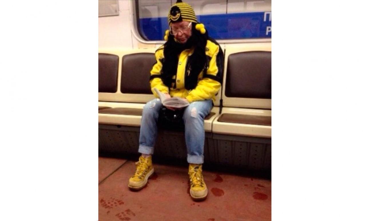 Мода петербургского метро: горожане, которые приводят в восторг