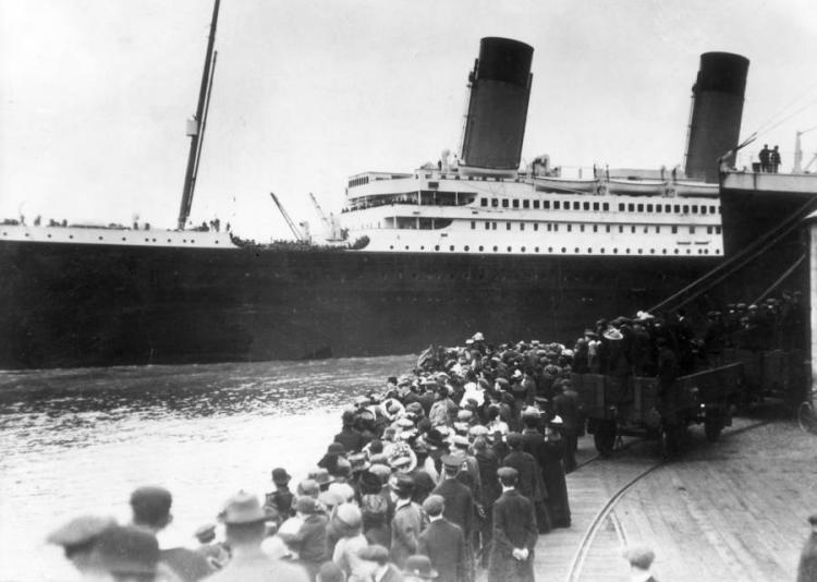 11 подлинных, но малоизвестных снимка, посвященных трагедии «Титаника»