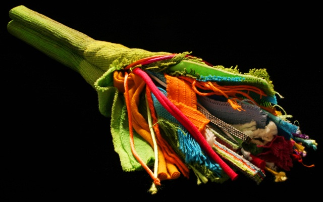 Уникальные и оригинальные украшения  из остатков ткани