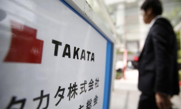 Takata отзывает еще 3,3 млн автомобилей из-за проблем с ее подушками безопасности