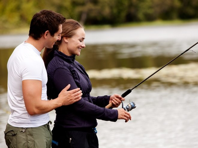 Рыбалка наладила семейную жизнь