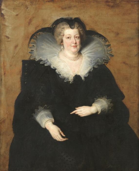 П.П. Рубенс. Портрет Марии Медичи