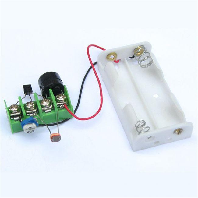 Лазерная сигнализация, простая схема