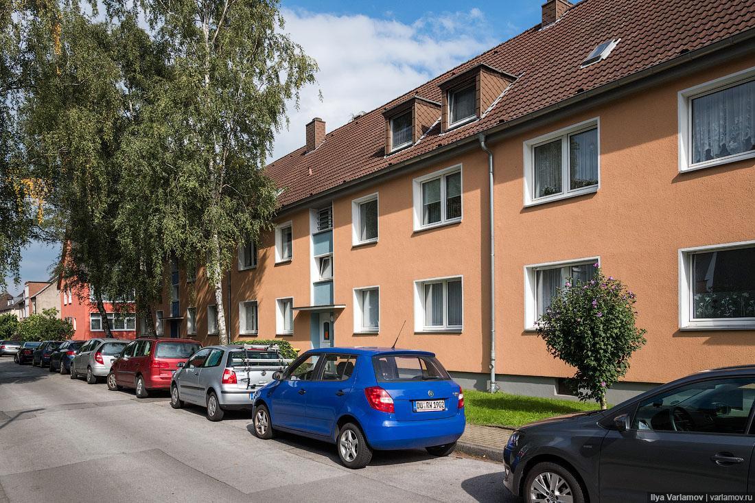 Почему в Германии дома выглядят как новенькие? Германия,двор,дом,жилье,ЖКХ