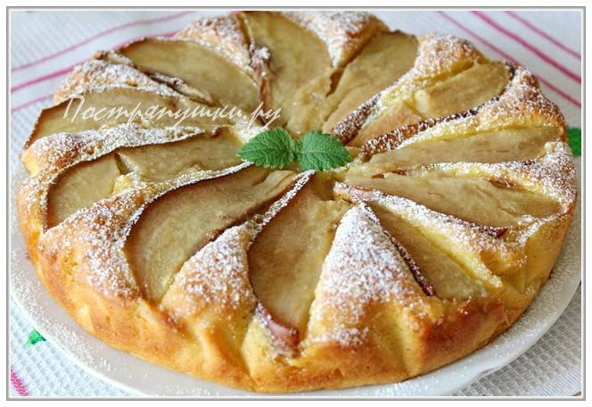 Картинки по запросу Грушевый пирог