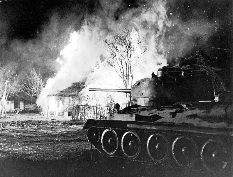 12.08.1944 на Сандамирском плацдарме