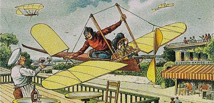 Будущее на открытках 1900 года