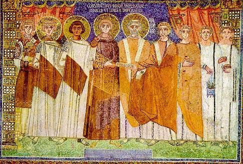Одежда Византии история