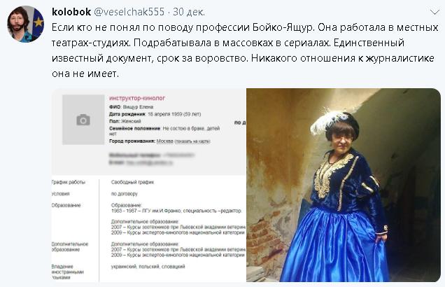 Лена Бойко - агент СБУ
