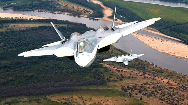 Тотальный радар Су-57