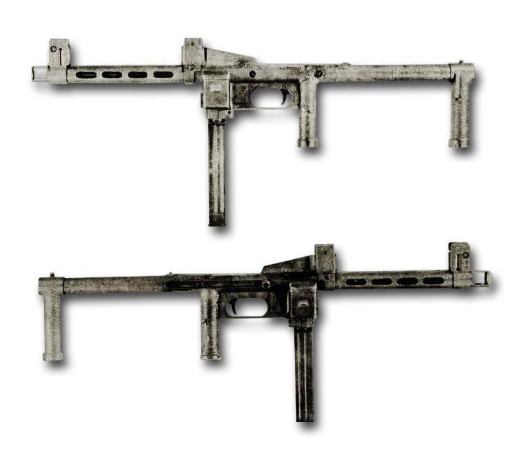 Пистолет-пулемет водопроводчика. Е.М.Р. 44 компании Erma оружие