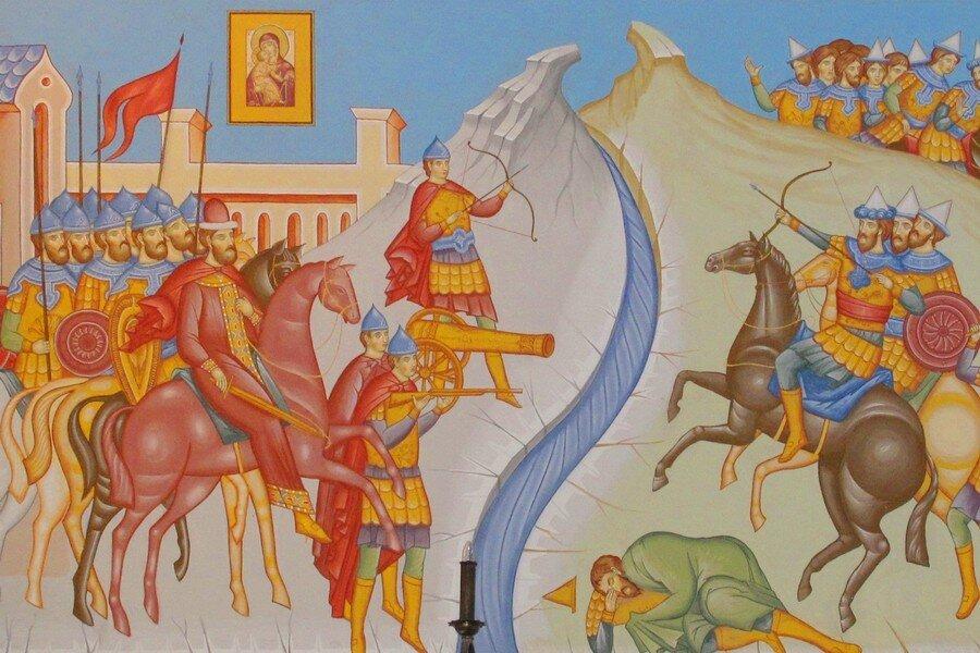 Против кого мы стояли на Угре, если в 1480 г. Орды уже не существовало история