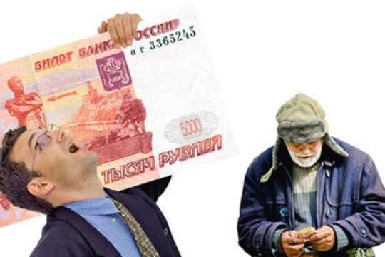Россия – страна контрастов и экономических чудес