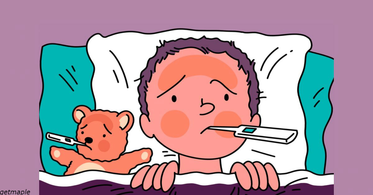 Никогда не делайте этих вещей, если у вашего ребенка жар!