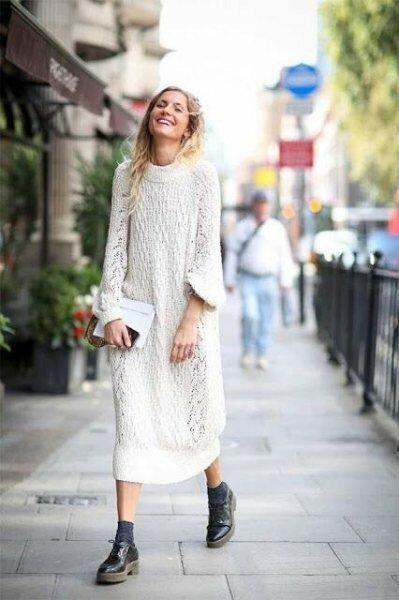 3 трикотажных платья, которые стоит купить на весну-2019 (+с чем носить)
