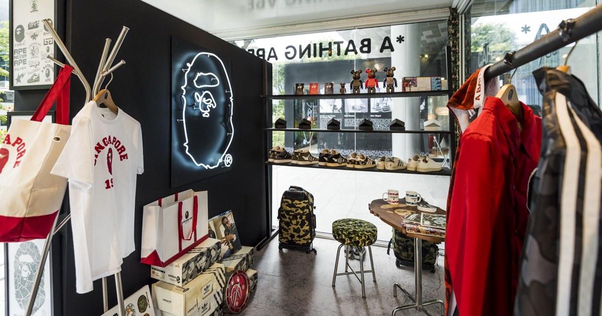 Японская марка одежды Bape выходит на российский рынок
