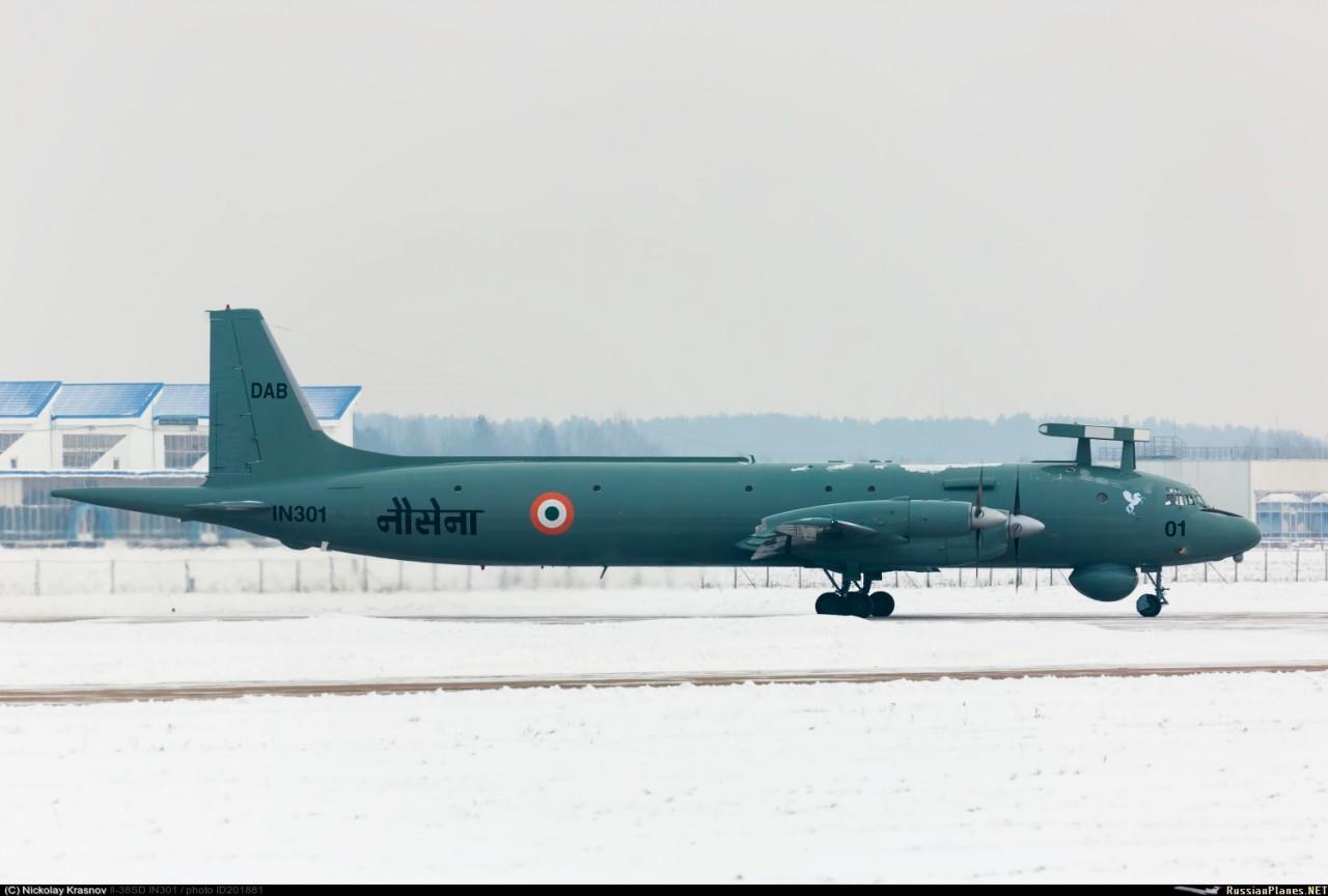 Завершен ремонт в России второго индийского Ил-38SD