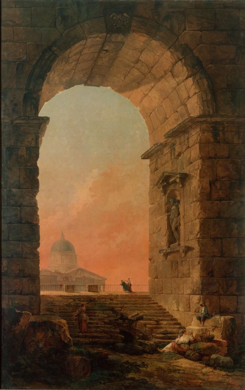 арки в картинах художников воздействии импульса