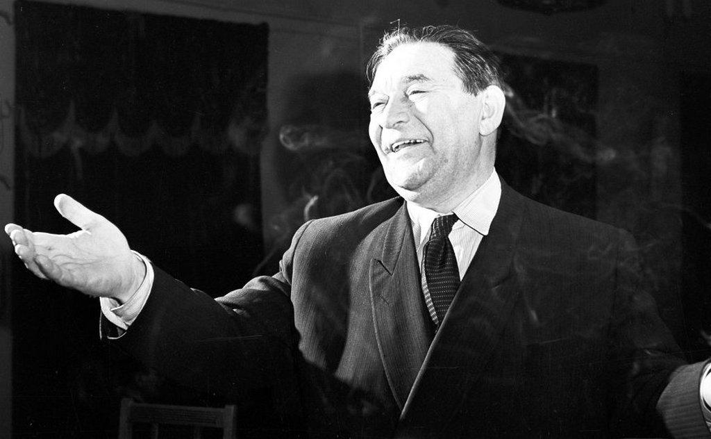 Как Утесов себе костюм заказывал анекдоты,знаменитости,Леонид Утесов,юмор и курьезы