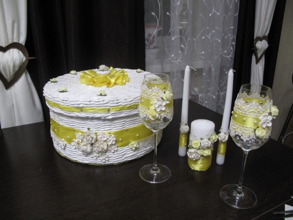 Свадебный набор для торжества.