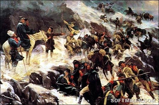 Любопытные факты о переходе Суворова через Альпы