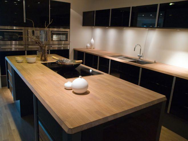 Столешницы из дерева для кухни