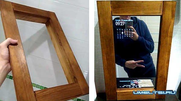 """Как сделать """"умное"""" зеркало"""" своими руками зеркало,электроника"""