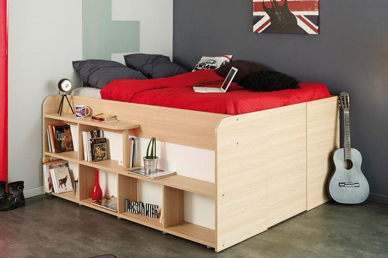 Кровать-гардеробная: выход д…