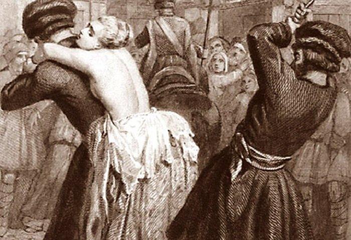 8. Британия древний мир, интересно, история, наказание за измену, неверность, супруги