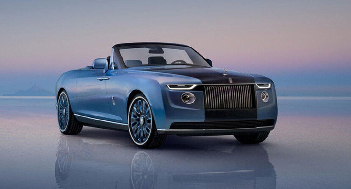 Rolls-Royce представил эксклюзивный автомобиль для пикника Автомобили