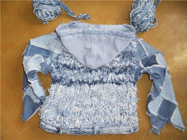 Идеи. Опять старые джинсы