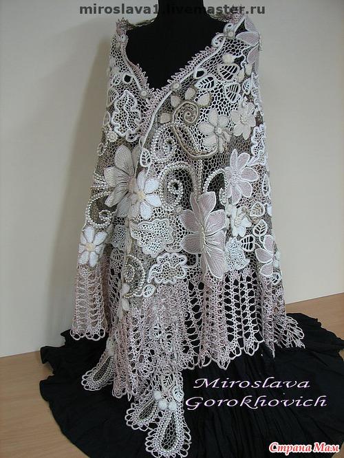 Великолепие Мирославы Горохович - вязание крючком