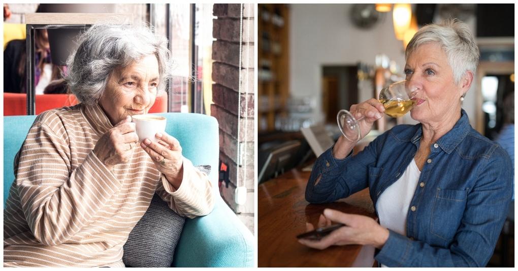 Новое исследование показало, что кофе и алкоголь могут продлить жизнь