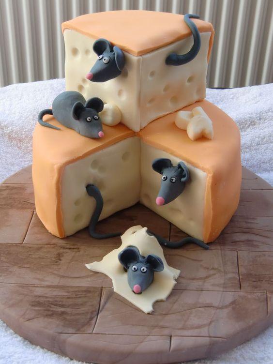 Необычные тортики.