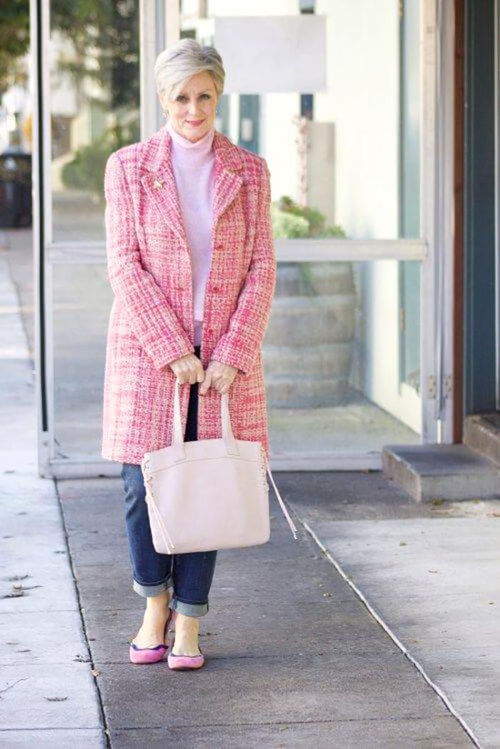 уличная мода для зрелых женщин