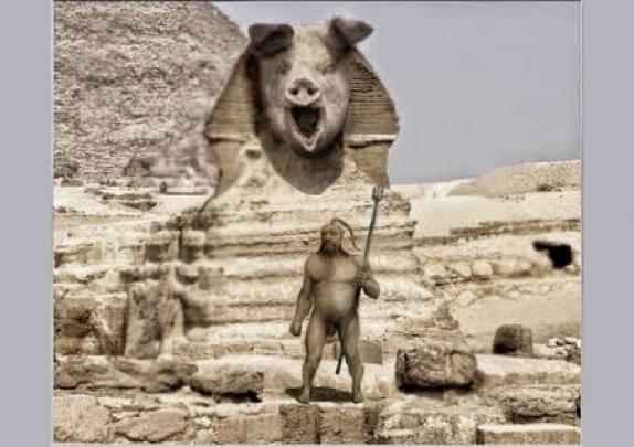 Загадка Сфинкса: амеро-египт…