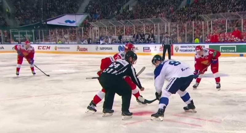 Сборная России разгромила Финляндию в матче Еврохоккейтура