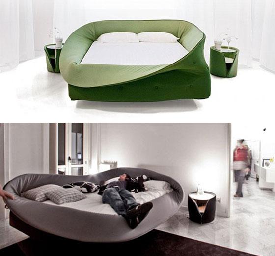 14 самых удивительных кроватей